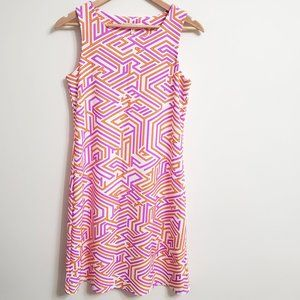 Jude Connally Beth Dress Sleeveless Geometric S